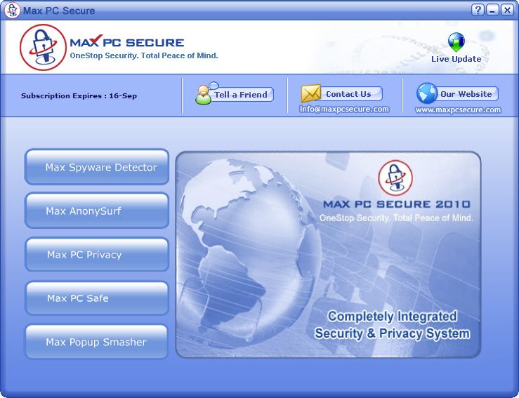 Max PC Secure